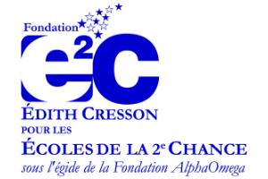 Logo Fondation Édith CRESSON pour les E2C