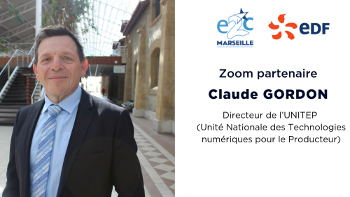 Claude GORDON, Directeur de l'UNITEP (Unité Nationale des Technologies numériques pour le Producteur)