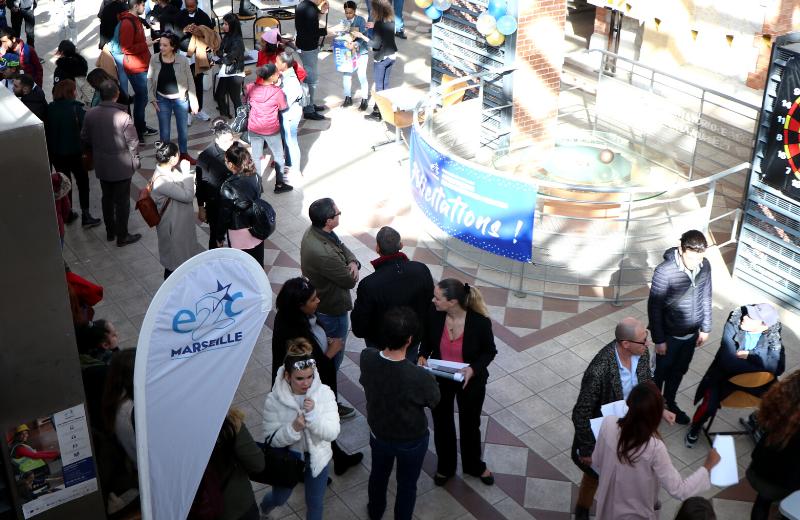Cérémonie de remise de l'Attestation de Compétences Acquises de l'E2C Marseille