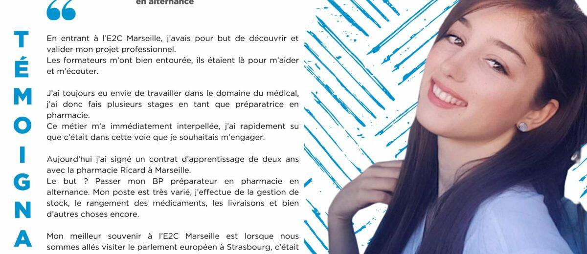 Trandafile UKLALA : « J'ai signé un contrat d'apprentissage avec la pharmacie Ricard à Marseille ! »
