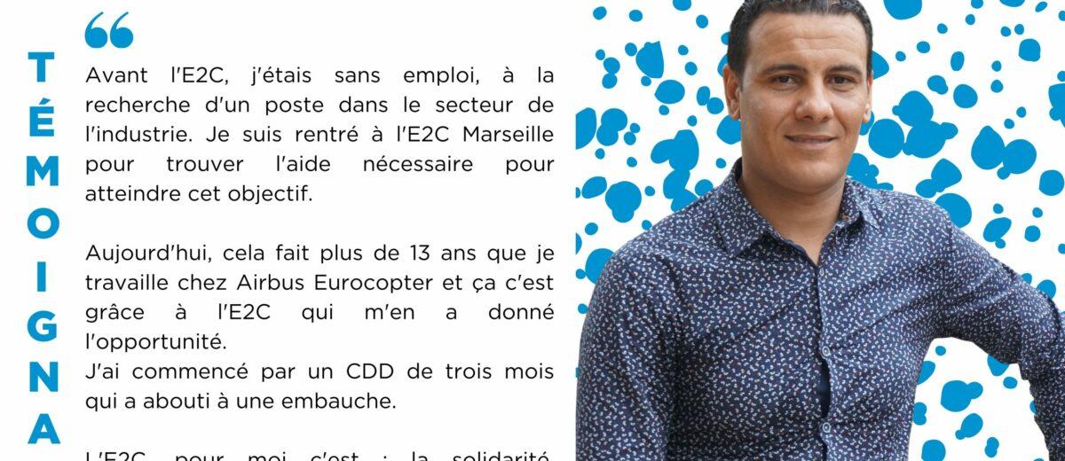 Amine BLAHA : « J'étais sans emploi, à la recherche d'un poste dans le secteur de l'industrie. »