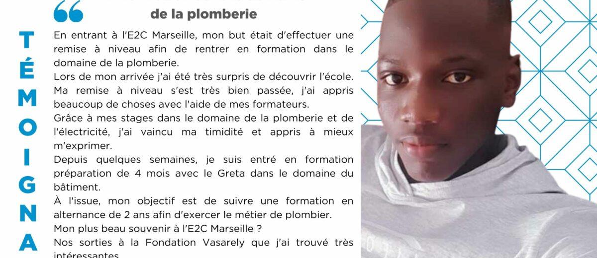 Alassane DIAW : « J'ai vaincu ma timidité et appris à mieux m'exprimer. »