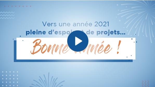 Vers une année 2021 pleine d'espoir et de projets !