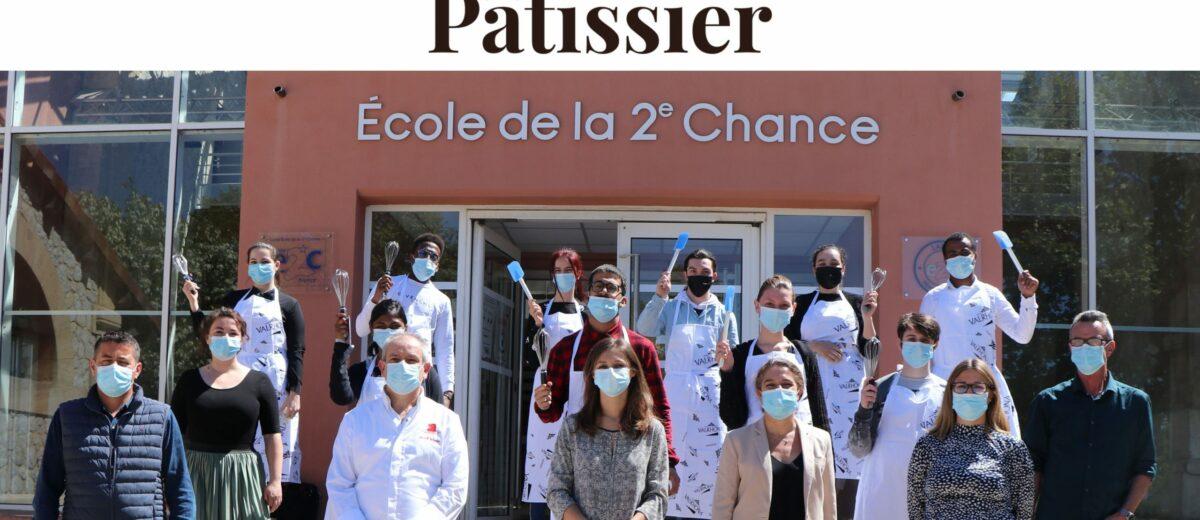 La 2e édition de Graines de Pâtissier en partenariat avec la Fondation Valrhona, c'est quoi ?