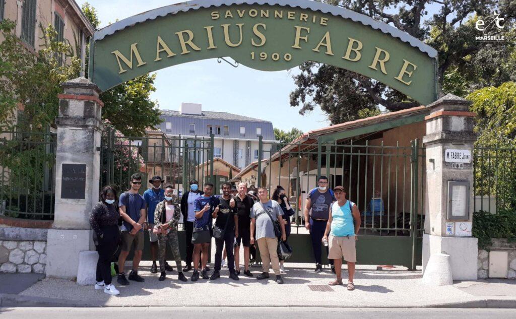 Stagiaires-E2C Marseille-Visite-Marius Fabre