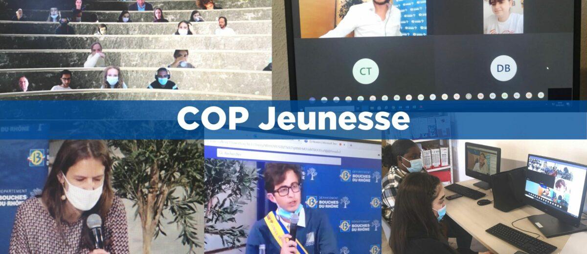 Les stagiaires de l'E2C Marseille participent au COP Jeunesse