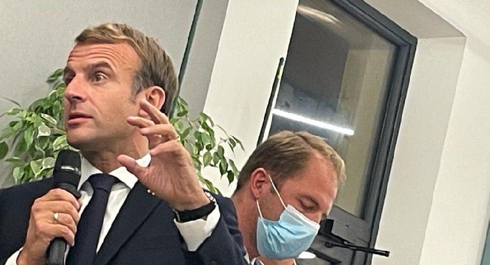 #Marseilleengrand Rencontre avec le Président de la République Emmanuel MACRON