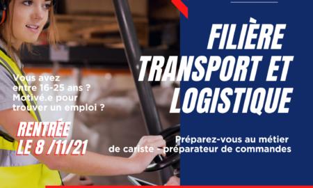 Matinée découverte filière logistique E2C Marseille