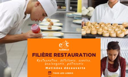 Matinée découverte filière restauration classique E2C Marseille