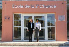 La délégation E2C de la Réunion visite le Campus de Saint-Louis