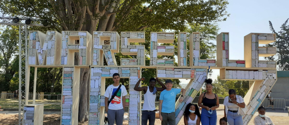 les stagiaires de l'E2C Marseille ont participé au projet De Briques et de Jazz